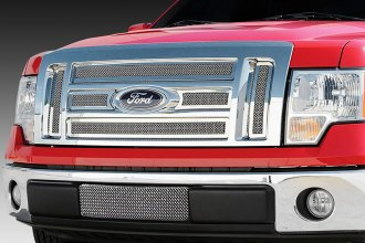 T-Rex® - 6-Pc Upper Class Series Polished Mesh Grille