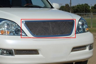 T-Rex® 54601 - 1-Pc Upper Class Series Polished Mesh Main Grille
