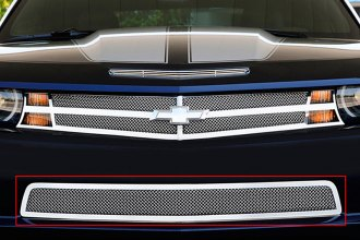 T-Rex® 55027 - Upper Class Series Polished Mesh Bumper Grille