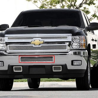 T-Rex® - Upper Class Series Polished Mesh Top Pad Bumper Grille