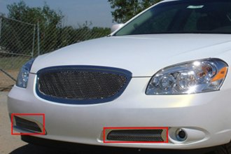 T-Rex® - 2-Pc Upper Class Series Polished Mesh Bumper Grille