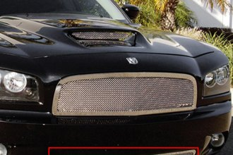 T-Rex® 55474 - Upper Class Series Polished Mesh Bumper Grille
