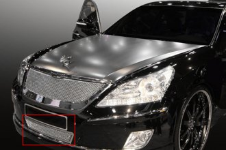 T-Rex® 55496 - Upper Class Series Polished Mesh Bumper Grille