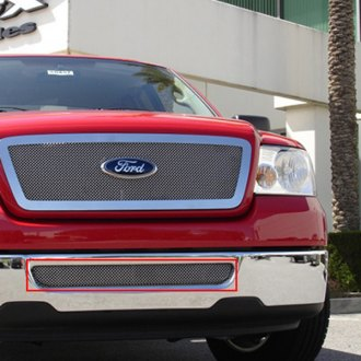 T-Rex 55555 - Upper Class Series Polished Mesh Bumper Grille