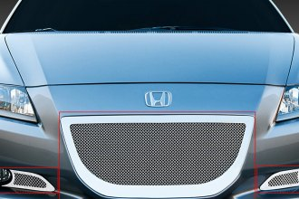 T-Rex® - 3-Pc Upper Class Series Polished Mesh Bumper Grille