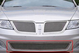 T-Rex® 55718 - Upper Class Series Polished Mesh Bumper Grille