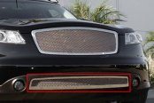 T-Rex® - Upper Class Series Polished Mesh Bumper Grille
