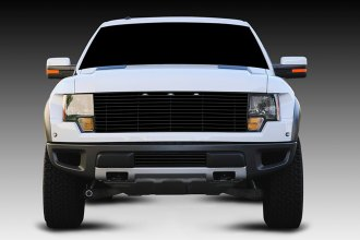 T-Rex® - 1-Pc Horizontal Black Billet Grille