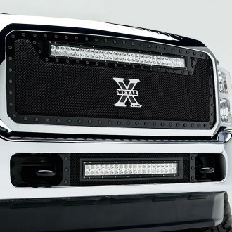 T-Rex® - 1-Pc Stealth Torch Series LED Light Black Grille