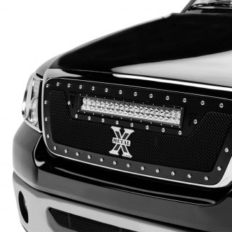 T-Rex® - 1-Pc Torch Series LED Light Black Mesh Grille