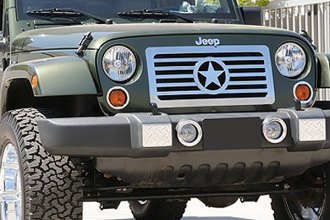 T-Rex® - 1-Pc Custom Style Polished Billet Grille