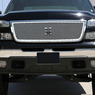 T-Rex® - 1-Pc X-Metal Series Custom Style Polished Mesh Grille