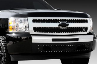 T-Rex® - 2-Pc X-Metal Series Black Mesh Grille