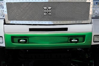 T-Rex® - X-Metal Series Custom Style Polished Mesh Main Grille