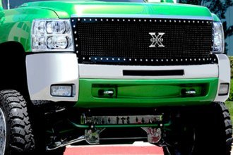 T-Rex® - 1-Pc X-Metal Series Custom Style Black Mesh Main Grille