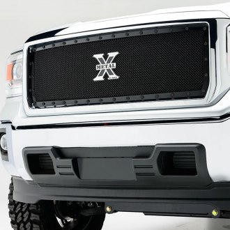 T-Rex® - 1-Pc Stealth Metal Series Black Mesh Grille