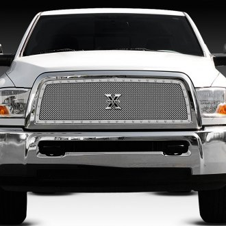 T-Rex® - 1-Pc X-Metal Series Polished Custom Opening Mesh Grille