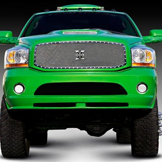 T-Rex® - 1-Pc X-Metal Series Polished Full Opening Mesh Grille