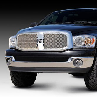 T-Rex® - 2-Pc X-Metal Series Polished Custom Opening Mesh Grille