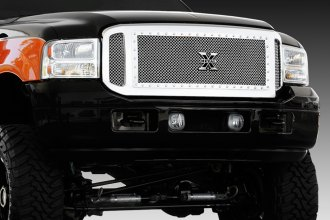 T-Rex® - 3-Pc X-Metal Series Polished Mesh Grille