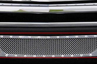 T-Rex® 6721100 - X-Metal Series Polished Mesh Bumper Grille