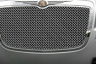 T-Rex® - 1-Pc Hybrid Series Chrome Wire Mesh Grille