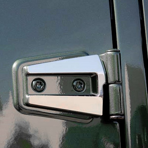 T-Rex® - 6-Pc T1 Series Polished Hood/Door Hinge Kit
