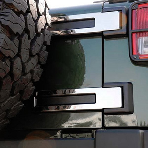 T-Rex® - T1 Series Polished Rear Spare Tire Carrier Hinge Kit