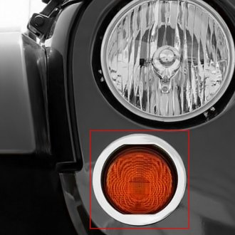 T-Rex® - T1 Series Polished Turn Signal Rings