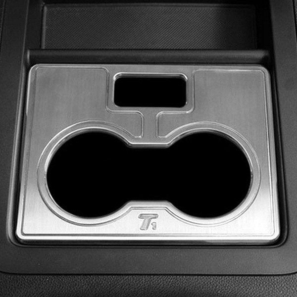 T-Rex® - T1 Series Billet Brushed Center Console Cell Phone/Cup Holder Trim