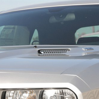 T-Rex® - 2-Pc T1 Series Factory Look Polished Hood Scoop Grille