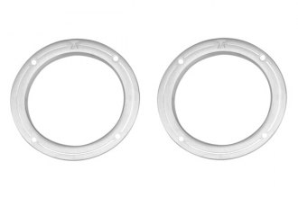 T-Rex® - 2-Pc T1 Series Brushed Fog Light Rings