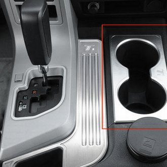 T-Rex® - T1 Series Billet Brushed Center Console Cup Holder Trim