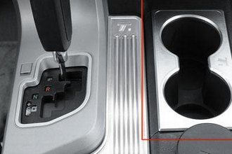 T-Rex® 11960 - T1 Series Billet Brushed Center Console Cup Holder Trim