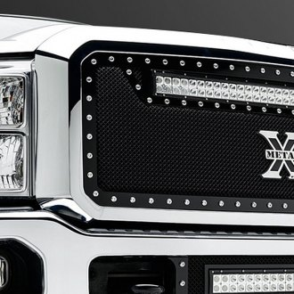 T-Rex® - Torch Series Black Mesh Grille with LED Lights