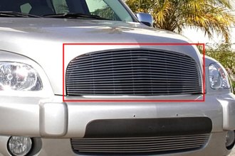T-Rex® 20090 - 1-Pc Horizontal Polished Billet Main Grille Insert