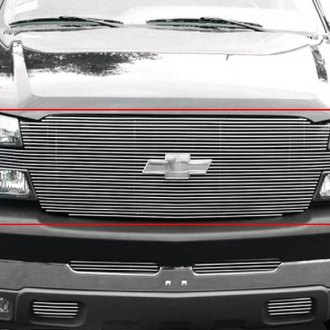 T-Rex® - Full Face Polished Billet Grille (W/O Recessed Bowtie)