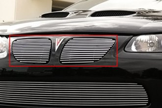 T-Rex® 20165 - 2-Pc Horizontal Polished Billet Main Grille Insert