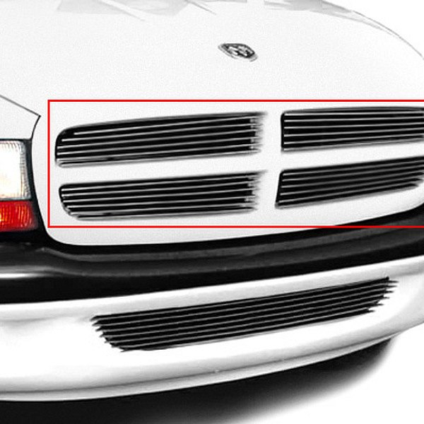 T-Rex® - 4-Pc Horizontal Polished Billet Main Grille Insert