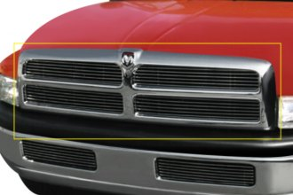 T-Rex® - 4-Pc Look Horizontal Polished Billet Grille