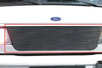 T-Rex® 20500 - 1-Pc Horizontal Polished Billet Main Grille