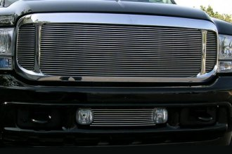 T-Rex® 20570 - Horizontal Polished Billet Main Grille Insert