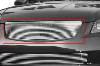 T-Rex® 20741 - 1-Pc Horizontal Polished Billet Main Grille Insert