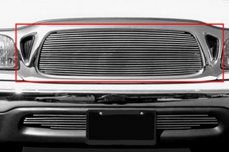 T-Rex® 20887 - 1-Pc Horizontal Polished Billet Main Grille Insert