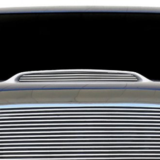 T-Rex® - 1-Pc Horizontal Billet Hood Scoop Grille