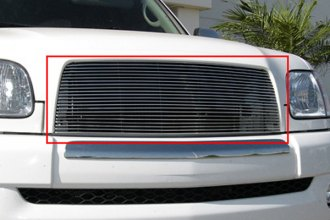T-Rex® 20957 - 1-Pc Horizontal Polished Billet Main Grille