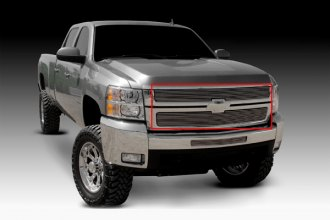 T-Rex® 21112 - 2-Pc Polished Billet Grille