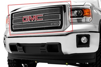 T-Rex® 21208 - 4-Pc Horizontal Polished Billet Main Grille