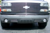 T-Rex® - 1-Pc Horizontal Polished Billet Top Pad Bumper Grille Insert