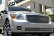 T-Rex® - 2-Pc Horizontal Polished Billet Bumper Grille Insert